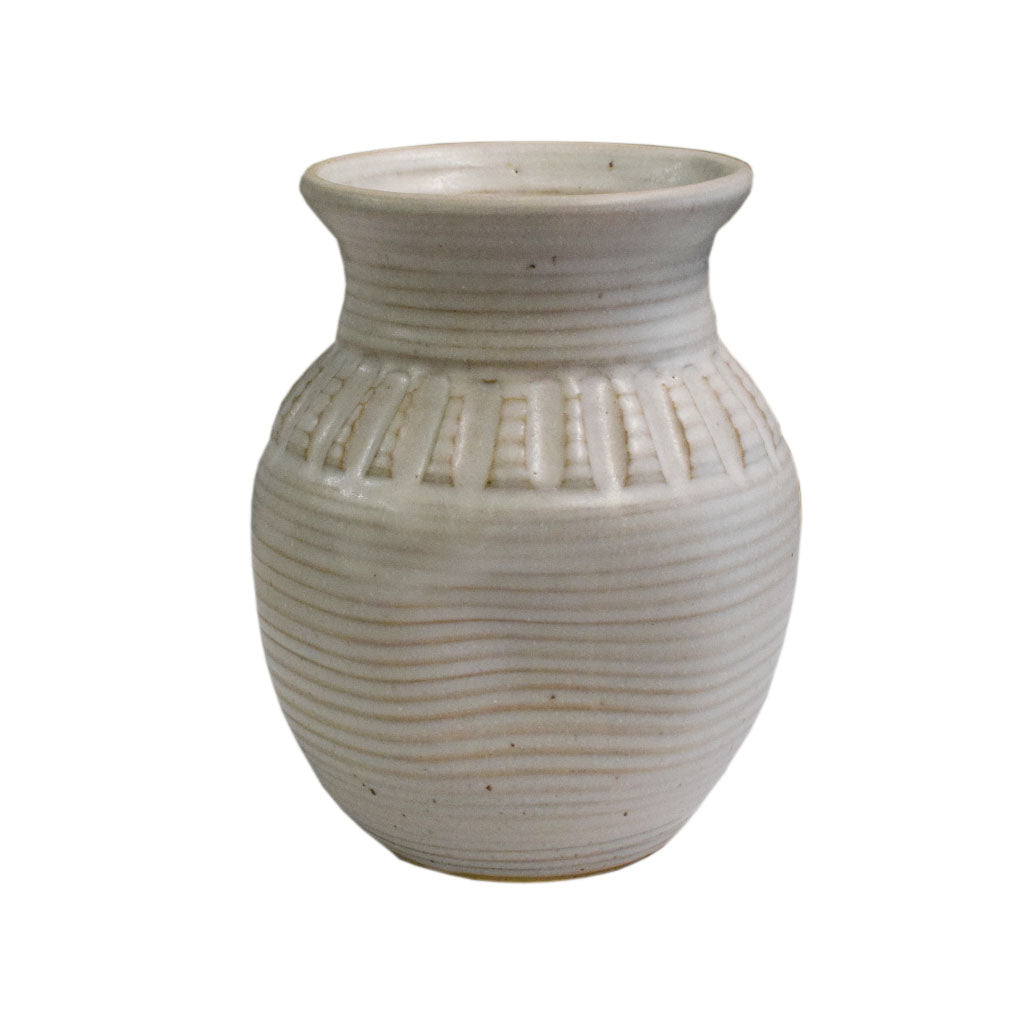"8"" Vase White - TheMississippiGiftCompany.com"