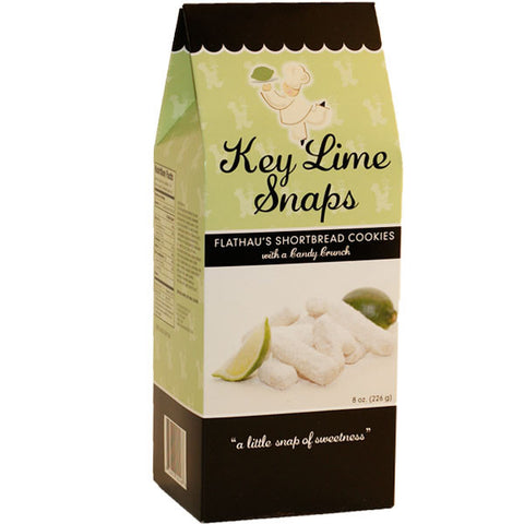 Key Lime Snaps Cookies- 8oz - TheMississippiGiftCompany.com