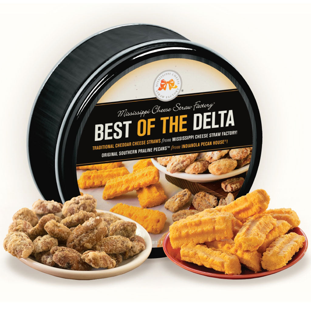 Best of The Delta Tin - TheMississippiGiftCompany.com