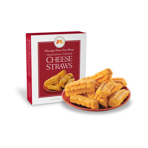 Mississippi Cheese Straws: Baked Cheddar Wafer 1oz - TheMississippiGiftCompany.com