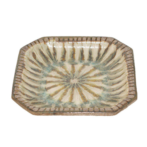 Good Earth Sparrow Medium Octagonal Bowl - TheMississippiGiftCompany.com