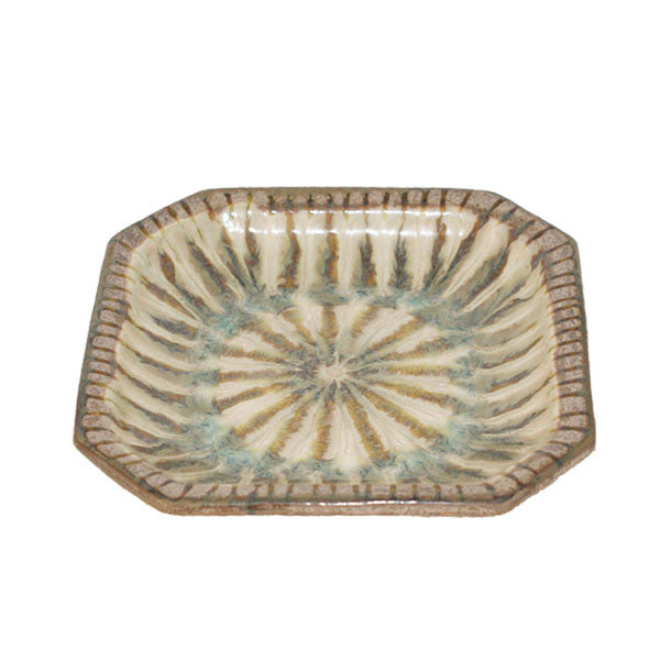 Good Earth Sparrow Small Octagonal Bowl - TheMississippiGiftCompany.com