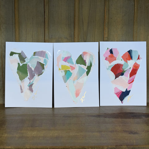 Haley Farris Unframed Paper Hearts