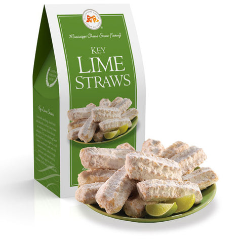 http://WWW.THEMISSISSIPPIGIFTCOMPANY.COM/Key-Lime-Straws-Shortbread-Cookies-3.5oz.aspx