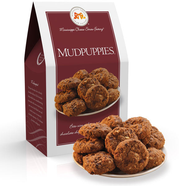 http://WWW.THEMISSISSIPPIGIFTCOMPANY.COM/Mississippi-MudPuppies-Chocolate-Oatmeal-Cookies--5.5oz.aspx