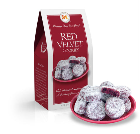 Red Velvet Cookies  3.5 oz - TheMississippiGiftCompany.com