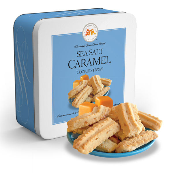Sea Salt Caramel Straws 10 oz - TheMississippiGiftCompany.com