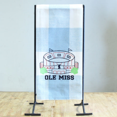 Ole Miss Stadium Hand Towel
