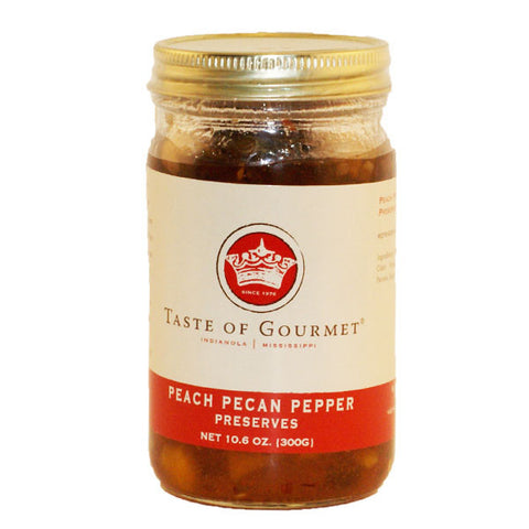 Pecan Pepper Peach Preserves - TheMississippiGiftCompany.com