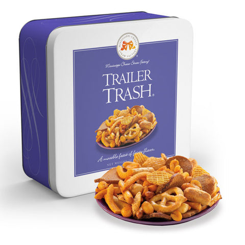 Trailer Trash Snack Mix 10 oz. Tin - TheMississippiGiftCompany.com