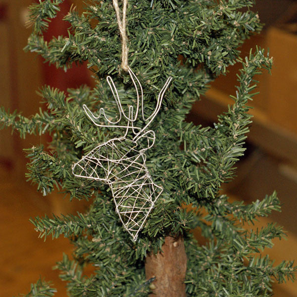 http://WWW.THEMISSISSIPPIGIFTCOMPANY.COM/wire-deer-ornament.aspx