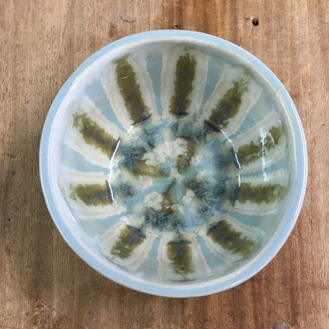 Teal Extra Small Nesting Bowl - TheMississippiGiftCompany.com