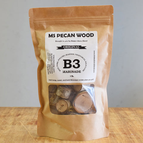 Mississippi Pecan Wood