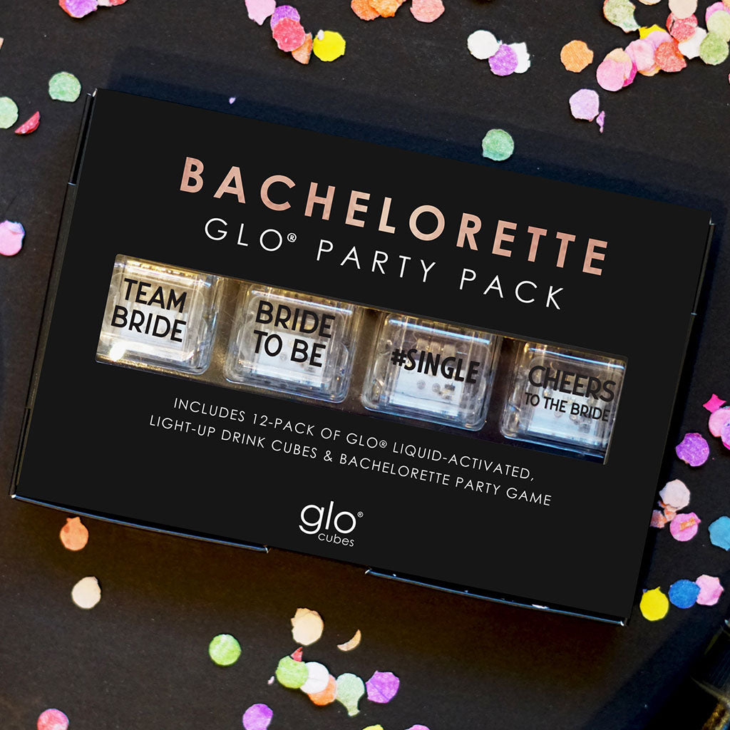 Liquid Activated Light Up Drink Cubes- Bachelorette Edition - TheMississippiGiftCompany.com