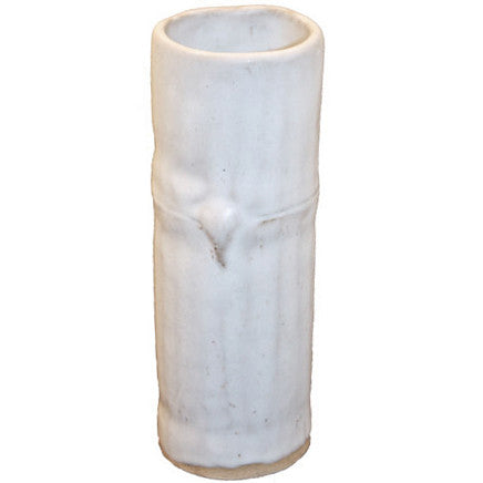 http://WWW.THEMISSISSIPPIGIFTCOMPANY.COM/Bamboo-Cylinder-Vase-White.aspx