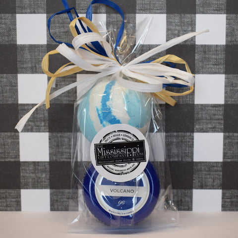 Bath Bomb and Mini Candle Set - TheMississippiGiftCompany.com