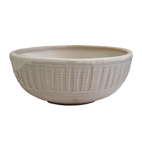Batter Bowl White - TheMississippiGiftCompany.com