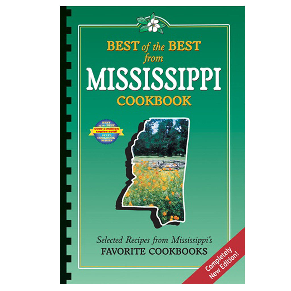 Best of the Best from Mississippi Cookbook - TheMississippiGiftCompany.com