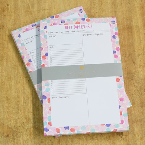 Best Day Ever Tear-Off Notepad - TheMississippiGiftCompany.com