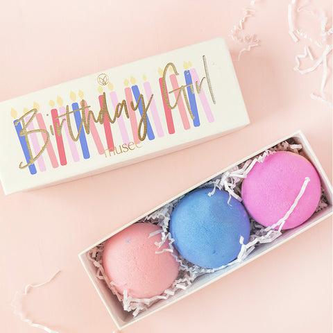 Birthday Girl Set of 3 Balms