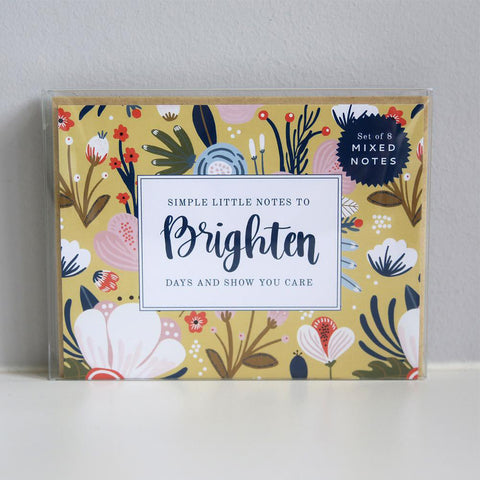 Brighten Note Card Set - TheMississippiGiftCompany.com