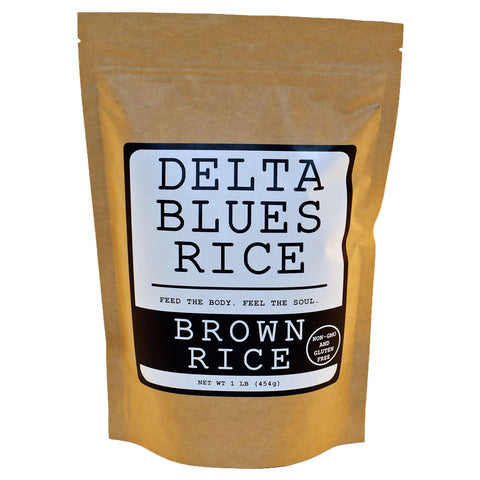 Delta Blues Brown Rice - TheMississippiGiftCompany.com