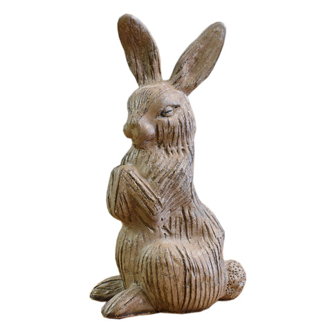 Bunny Without Basket Nutmeg - TheMississippiGiftCompany.com