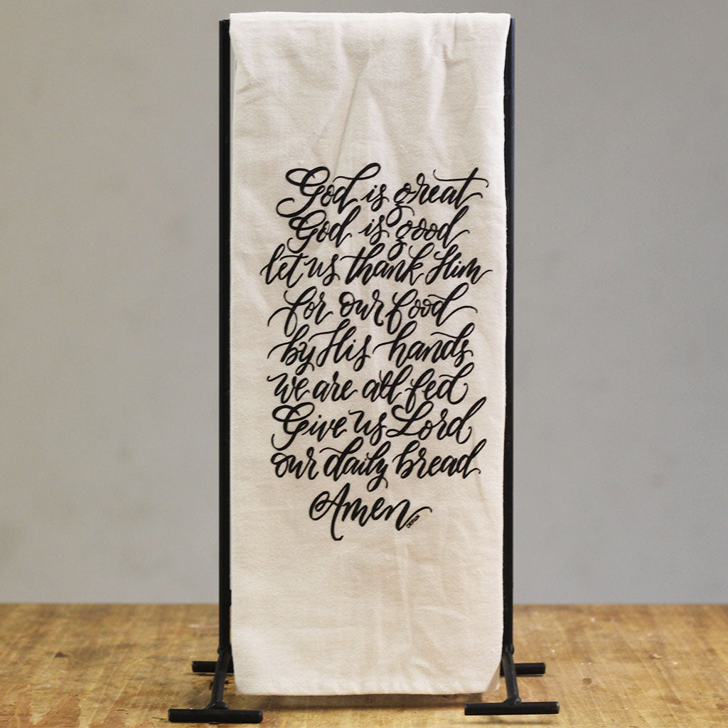 God Is Great Hand Towel