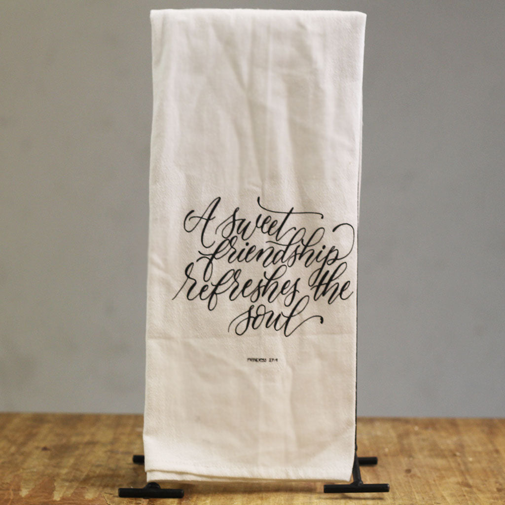 Sweet Friendship Hand Towel