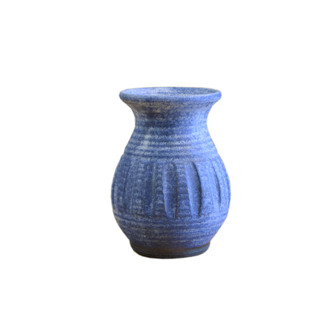 Carnation Vase Blue - TheMississippiGiftCompany.com