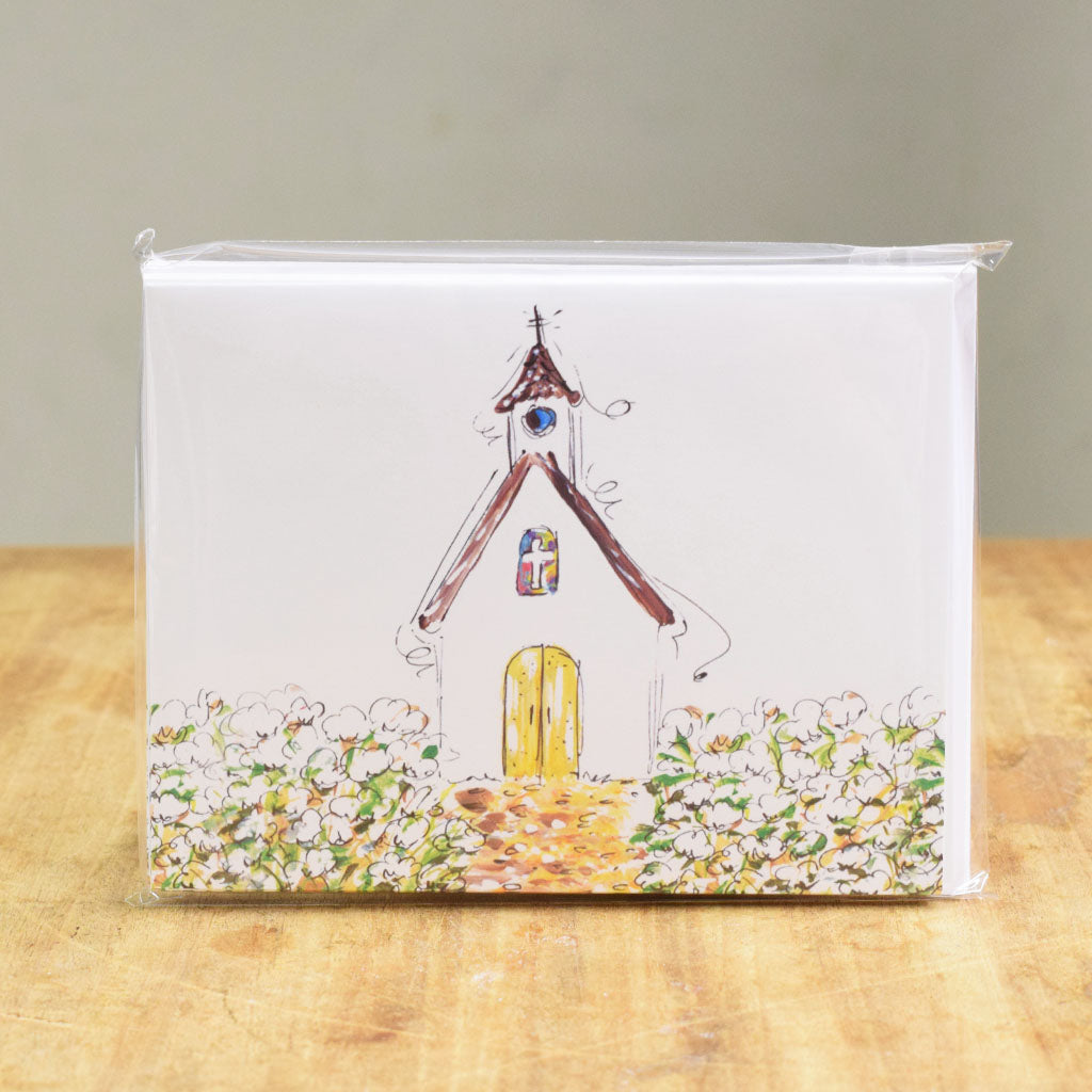 Chapel Notecard Set - TheMississippiGiftCompany.com