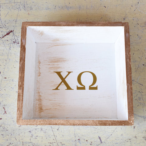 Sorority Wooden Tray