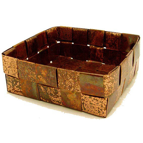 CopperWorx Copper Basket - TheMississippiGiftCompany.com