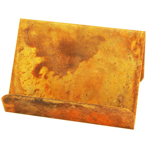 Copper Business Card Holder - TheMississippiGiftCompany.com