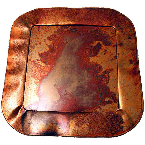 Copperworx Fluted Platter Small - TheMississippiGiftCompany.com