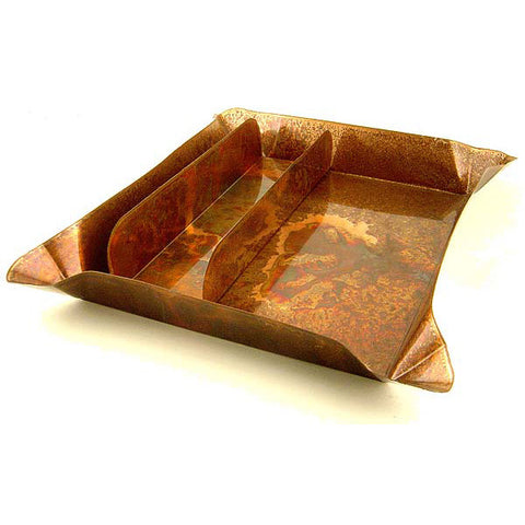 Copper Utensil Tray - TheMississippiGiftCompany.com
