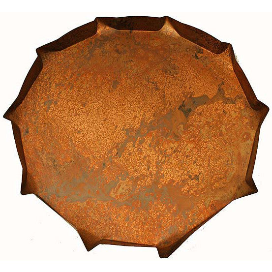 Copperworx Platter - TheMississippiGiftCompany.com