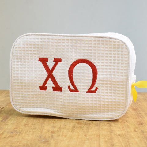 Sorority Cosmetic Bag - TheMississippiGiftCompany.com