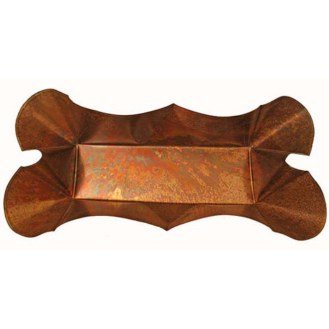 "12"" Rectangle Planter: Copperworx - TheMississippiGiftCompany.com"
