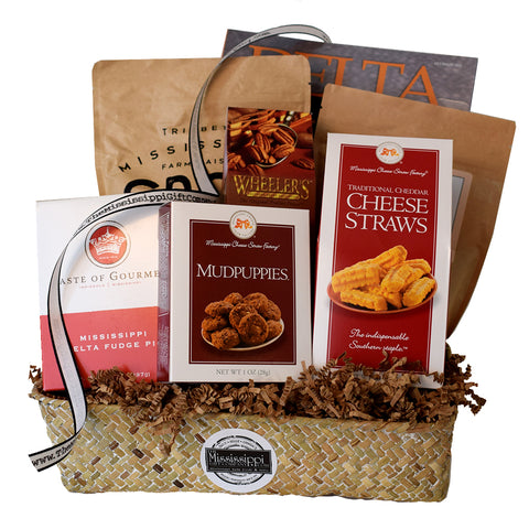 Mississippi Delta Basket - TheMississippiGiftCompany.com