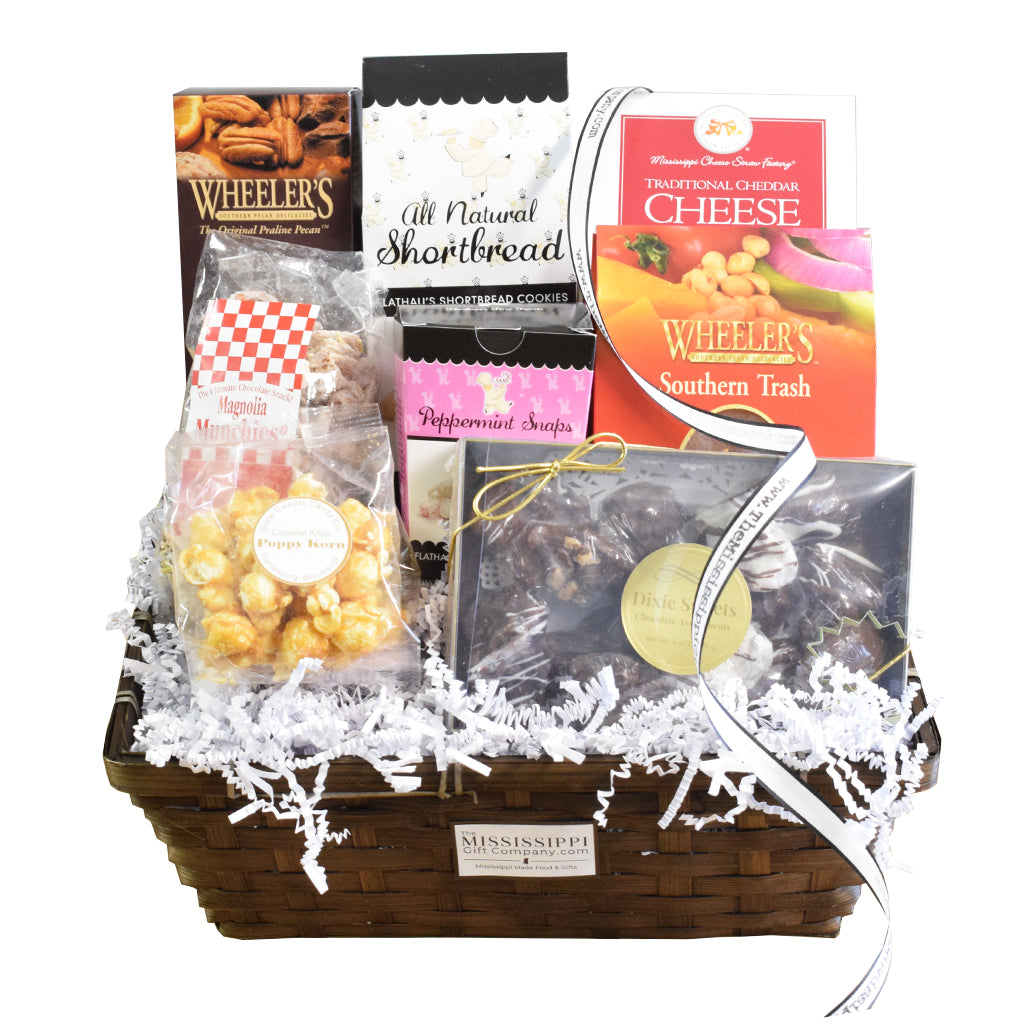Deluxe Mississippi Munchies Basket
