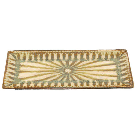 Good Earth Sparrow Rectangle Bread Tray - TheMississippiGiftCompany.com