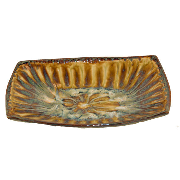 Bluebird Rectangle Serving Bowl - TheMississippiGiftCompany.com