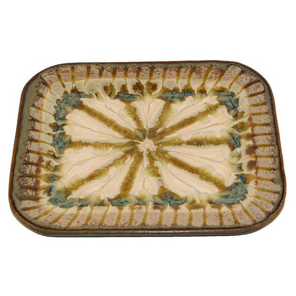 Good Earth Sparrow Medium Rectangle Plate - TheMississippiGiftCompany.com