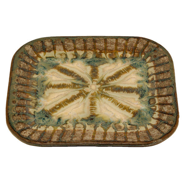 Good Earth Sparrow Small Rectangle Plate - TheMississippiGiftCompany.com
