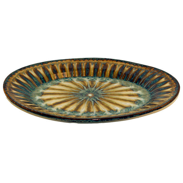 Bluebird Large Oval Platter - TheMississippiGiftCompany.com
