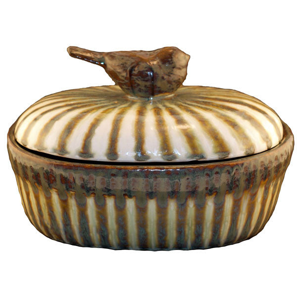 Bluebird Large Casserole - TheMississippiGiftCompany.com