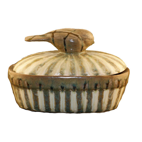 Good Earth Sparrow Small Casserole - TheMississippiGiftCompany.com