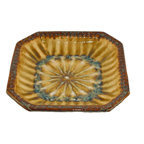 Bluebird Medium Octagonal Bowl - TheMississippiGiftCompany.com