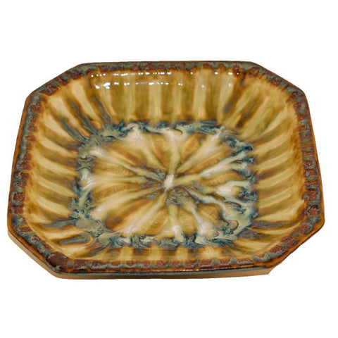 Bluebird Small Octagonal Bowl - TheMississippiGiftCompany.com